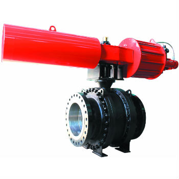 Trunnion Mounted Ball Valve