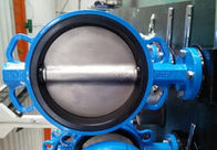 Katup Kupon Centric Lotion PTFE Lined Self Lubricated Shaft Bear ATX Wafer Type Butterfly Valve