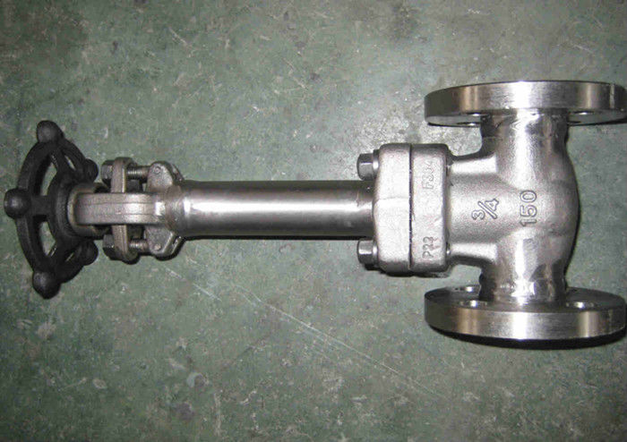 LF2 LF3 API 602 Forged Steel Valve , Cryogenic Gate Valve Extended Bonnet Welded Seat HF