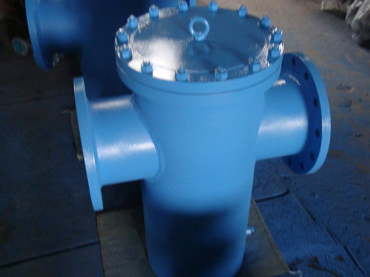 T Type ASME Strainer Bolted atau Threaded Cover CS SS Pelindung Inconel Monel Alloy20