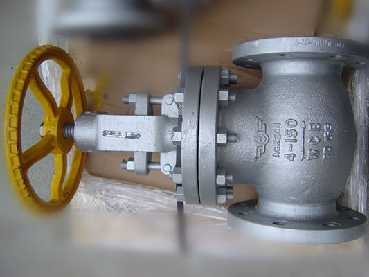 Screwed ASTM A 217 BS 1873 Globe Valve, Os & Y Globe Valve Kelas 150 # ~ 2500 #